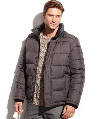 Calvin Klein Solid Performance Puffer Jacket - Coats & Jackets ...