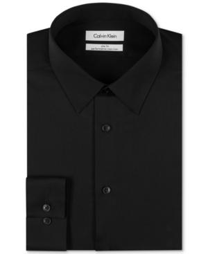 Calvin-Klein-Steel-Mens-Slim-Fit-Non-Iron-Performance-Herringbone-Point-Collar-Dress-Shirt