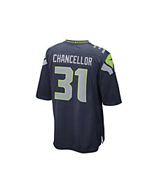 Nike Kam Chancellor Seattle Seahawks Game Jersey, Big Boys (8-20)