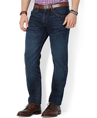 Ralph Lauren Morris Lightweight Straight-Fit Jeans - Jeans - Men