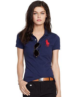 Polo Ralph Lauren Slim-Fit Big-Pony Polo Shirt
