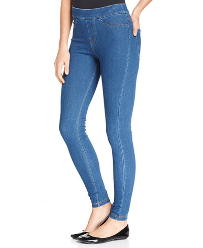 No nonsense Women's Classic Denim Leggings. With the