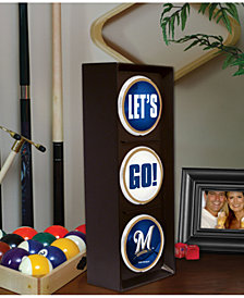 Memory Company Milwaukee Brewers Flashing Let's Go Light