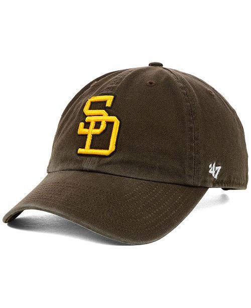 3150ec5df San Diego Padres Clean Up Cap