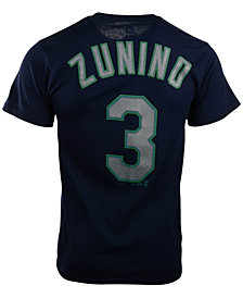 Majestic Kids' Short-Sleeve Mike Zunino Seattle Mariners Player T-Shirt