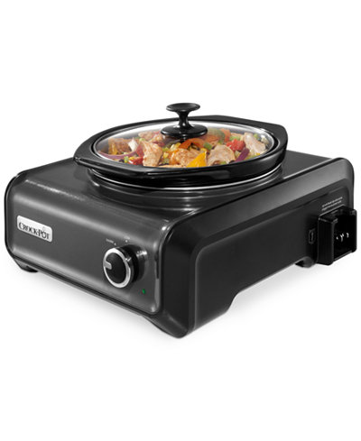 Crock-Pot 2-Qt. Hook Up Round Slow Cooker