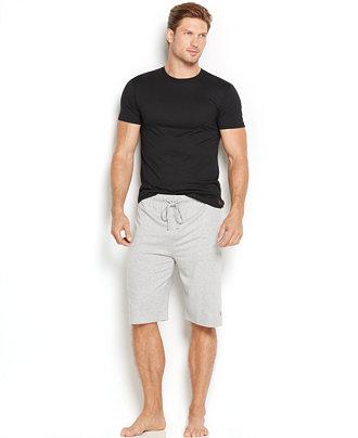 Polo ralph lauren men 39 s supreme comfort crew neck t shirt T shirt and shorts pyjamas