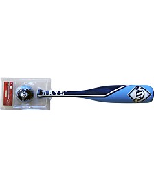 Jarden Sports Tampa Bay Rays Grand Slam Softee Baseball Bat and Ball Set