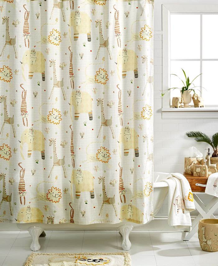 Creative Bath - Animal Crackers Shower Curtain