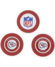 Team Golf Kansas City Chiefs 3-Pack Poker Chip Golf Markers