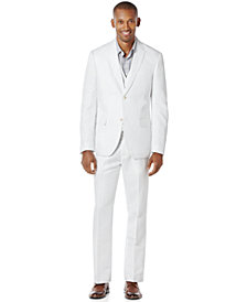 Perry Ellis Men's Linen Suit Separates