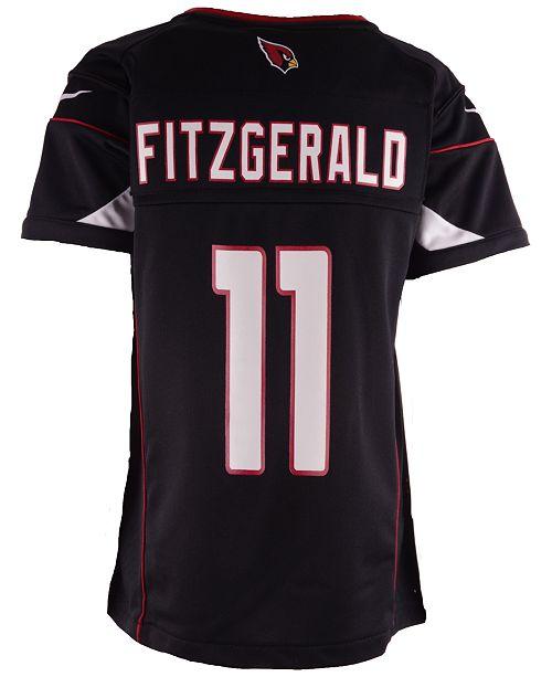 sale retailer 2c201 2dfff Kids' Larry Fitzgerald Arizona Cardinals Game Jersey, Big Boys (8-20)