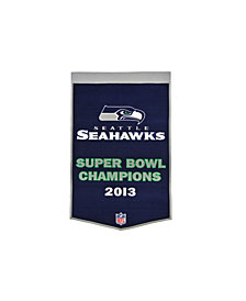 Winning Streak Seattle Seahawks Dynasty Banner