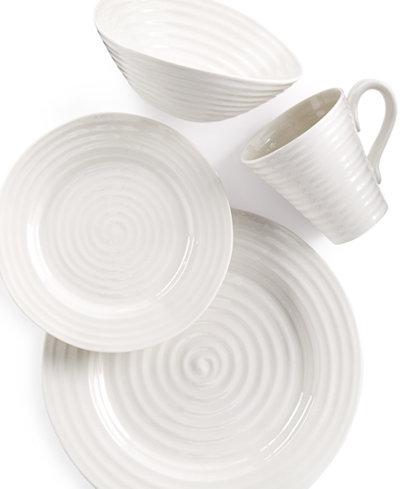 Portmeirion Dinnerware, Sophie Conran White 4 Piece Place Setting ...