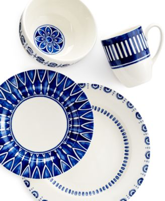 The Siena Collection by Mikasa features bold hand-painted details over clean white earthenware making it an irresistibly rustic choice for casual dining.  sc 1 st  Macyu0027s & Mikasa Siena Dinnerware Collection - Dinnerware - Dining ...