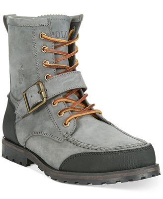 Polo Ralph Lauren Woolton Boots - All Men\'s Shoes - Men - Macy\'s