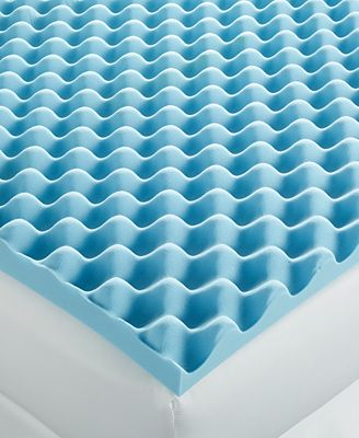 Closeout home design 3 sculpted memory foam mattress toppers mattress pads toppers bed - Home design mattress pads ...