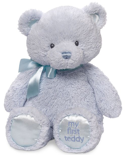 Gund Baby My First Teddy Plush All Toys Games Kids Macy S
