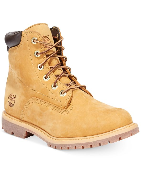 Timberland Women's Waterville Waterproof Lug Sole Boots, Created for Macy's