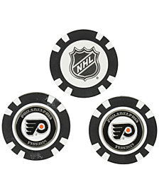 Team Golf Philadelphia Flyers 3-Pack Poker Chip Golf Markers