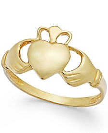Claddagh Ring in 14k Gold