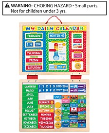 Kids' My First Daily Calendar Magnetic Toy