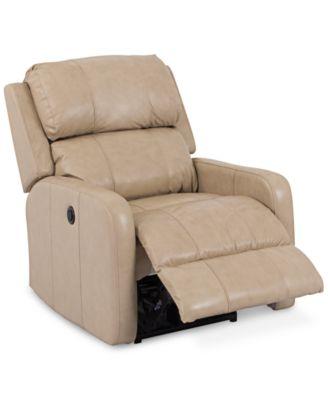 Colton Leather Power Recliner. Furniture  sc 1 st  Macy\u0027s & Colton Leather Power Recliner - Furniture - Macy\u0027s islam-shia.org
