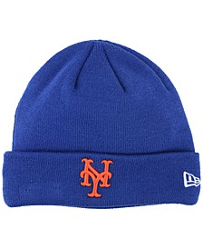 New York Mets Basic Cuffed Knit Hat