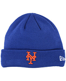 New Era New York Mets Basic Cuffed Knit Hat