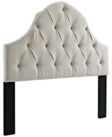 Madalene King/California King Tufted Headboard, Quick Ship
