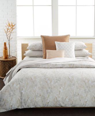 Calvin Klein Blanca 3 Pc Bedding Collection 100 Cotton