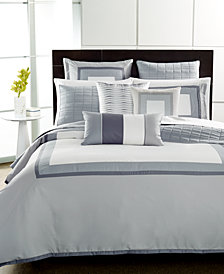 CLOSEOUT! Hotel Collection  Modern Frame Quilted Queen Coverlet