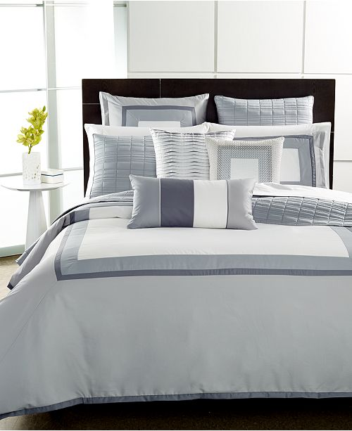 Hotel Collection  Modern Frame Bedding Collection, Created for Macy's