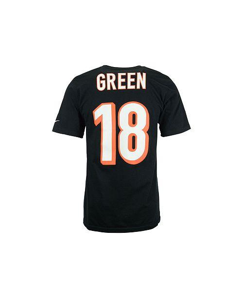 b3be11d5d Nike Men's A.J. Green Cincinnati Bengals Pride Name and Number T-Shirt ...