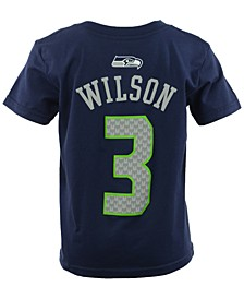 Toddler Boys' Russell Wilson Seattle Seahawks Mainliner Player T-Shirt