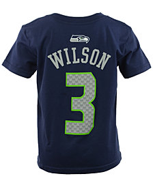 Outerstuff Toddler Boys' Russell Wilson Seattle Seahawks Mainliner Player T-Shirt