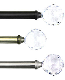 Rod Desyne Faceted Single Rod Window Hardware Collection