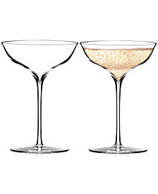 Waterford Elegance Champagne Belle Coupe Pair