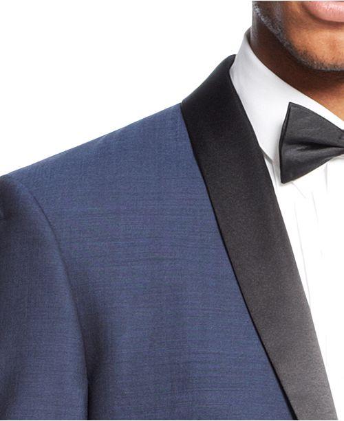 208b8ca95f6 ... Bar III Slim-Fit Midnight Blue Shawl Collar Tuxedo Separates ...