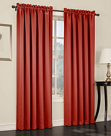 "Sun Zero Grant Room Darkening Pole Top 54"" x 95"" Curtain Panel"