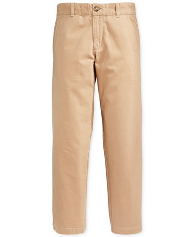Tommy Hilfiger Boys Cotton Khaki Pants, Big Boys (8-20) - Leggings ...