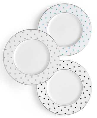 Larabee Road Polka Dot Accent Plate