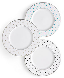 kate spade new york Larabee Road Polka Dot Accent Plate