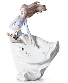 Lladro Collectible Figurine, Petals of the wind
