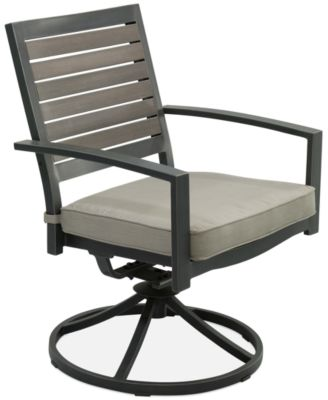 marlough aluminum outdoor swivel rocker - Rocking Chair Cushion Sets