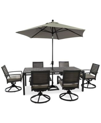 Marlough Outdoor Aluminum -Pc. Dining Set  Dining Table