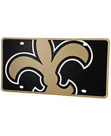 Stockdale New Orleans Saints Printed License Plate