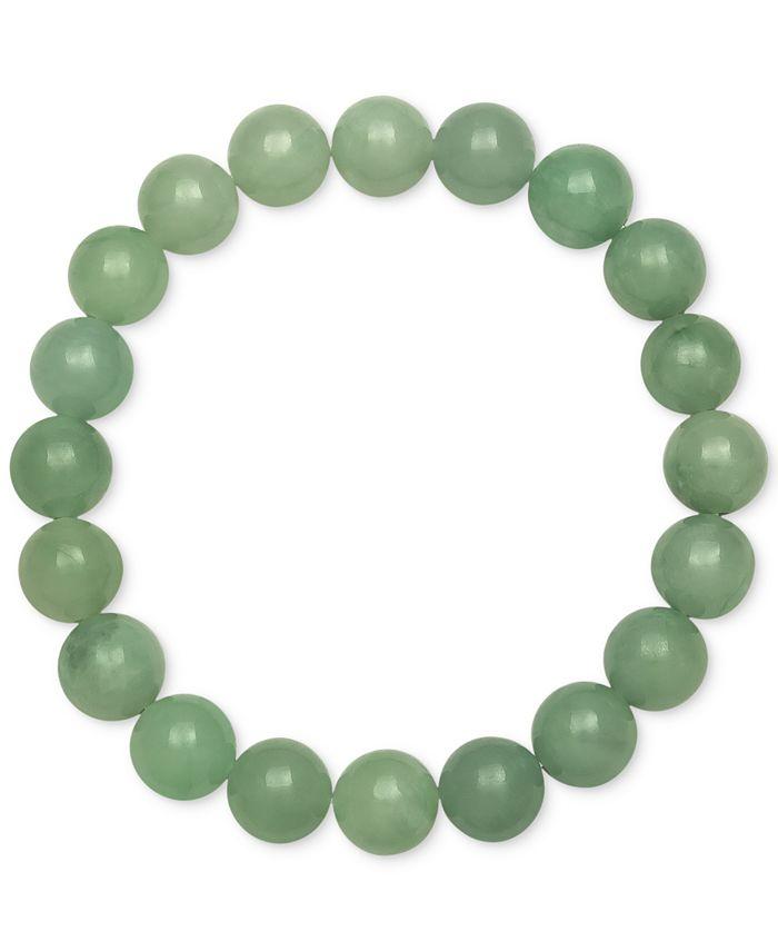 Macy's - Dyed Jade Stretch Bracelet (10mm)