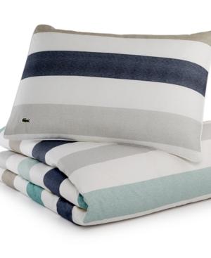 Lacoste Home Bailleul FullQueen Comforter Set Bedding