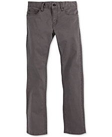 Levi's® 511™  Slim Fit Sueded Pants, Big Boys